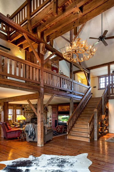Gorgeous converted former dairy barn into a timber barn home.  @Liz Mester Mester Mester Dore Foley   this is it!!!  this is what we are going to do with your barn.  :)