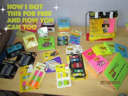 I wrote to 3M and look what I got; products worth $200! Read on to see how I did it and how you can too.