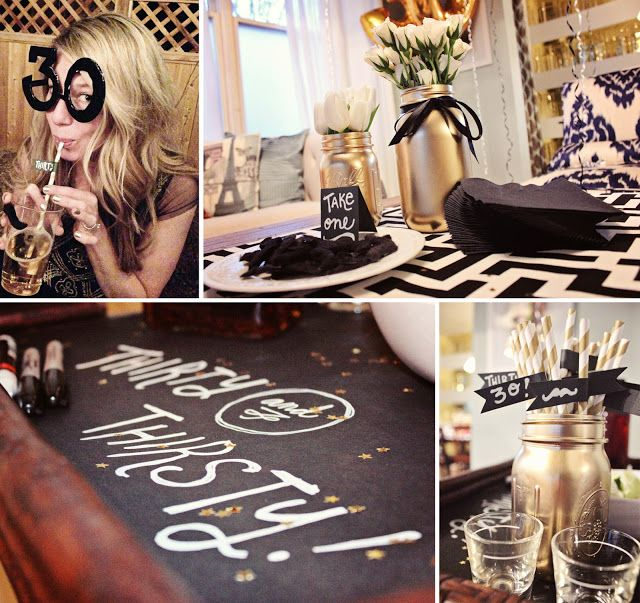 Best 25 turning thirty ideas on pinterest surprise 30th for 30th birthday decoration ideas for her