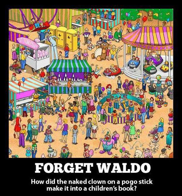 """Fun fact: at least one """"Where's Waldo?"""" book is on a school ban list. Nudity, man."""
