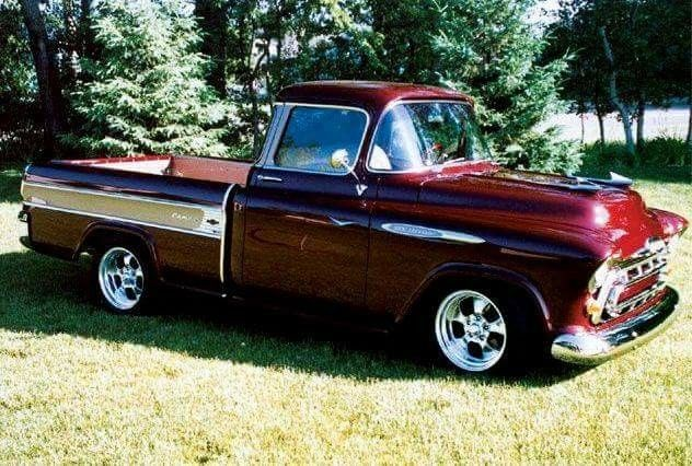57 Chevy Pickup Truck