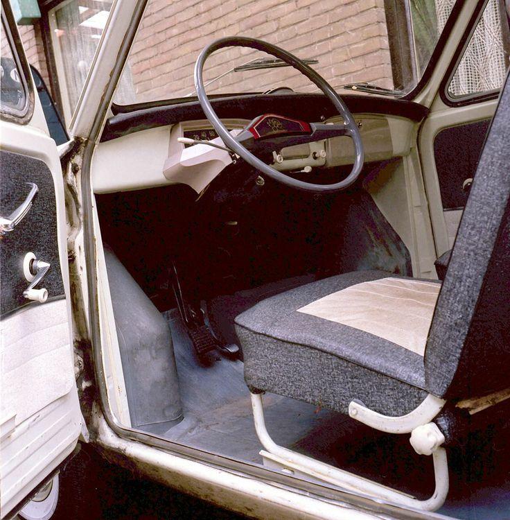 1961 - Daf 750 Daffodil  - interieur