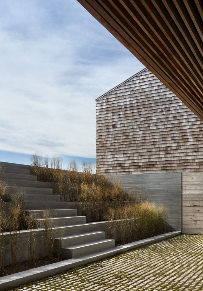 Genius Loci / Bates Masi + Architects. Expression of spirit of a particular place. Ancient Greece inspiration.