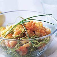 Recept - Citroenpasta met garnalen - Allerhande