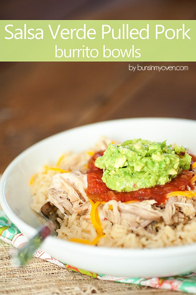Salsa Verde Pulled Pork (Slow Cooker Recipe | Pork ...