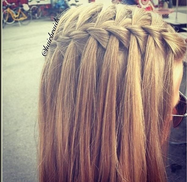 11 Waterfall French Braid Hairstyles Long Hair Ideas Long Hair Styles Braids For Long Hair Hair Styles
