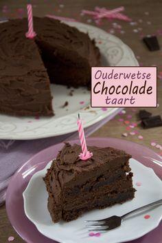 Ouderwetse Chocoladetaart