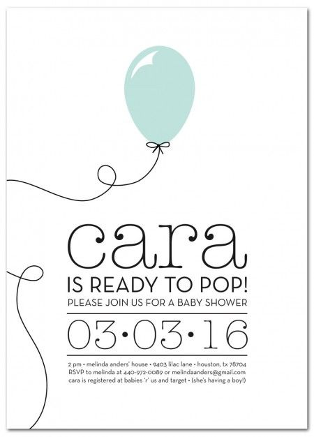 Ready to Pop Baby Shower Invitation from PaperSnaps #Baby    http://blog.papersnaps.com/2012/03/06/about-to-pop-baby-shower-invitation/