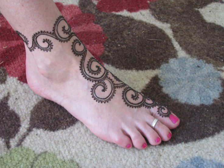Easy Henna Tattoos ~ Design