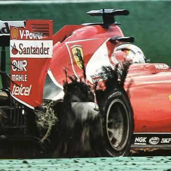 """It was never risky."" #SebastianVettel defends Ferrari's one-stop #BelgianGP strategy >> f1.com/1EjzXv6"