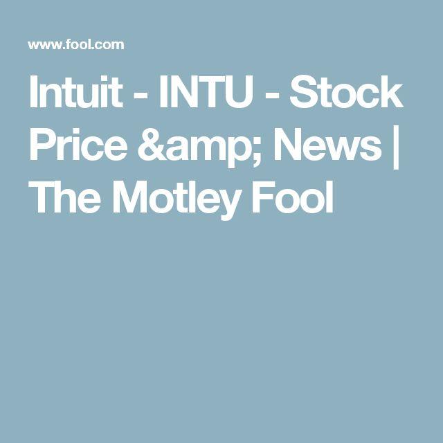 Intuit - INTU - Stock Price & News | The Motley Fool