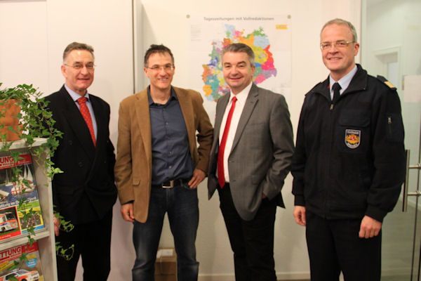 Neuer DFV-Präsident Ziebs besucht Feuerwehr-Magazin » Feuerwehr-Magazin