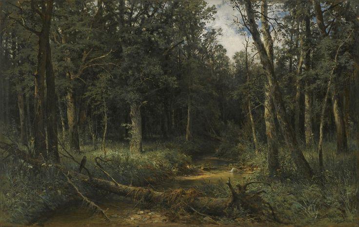 Иван И. Шишкин - Темное дерево