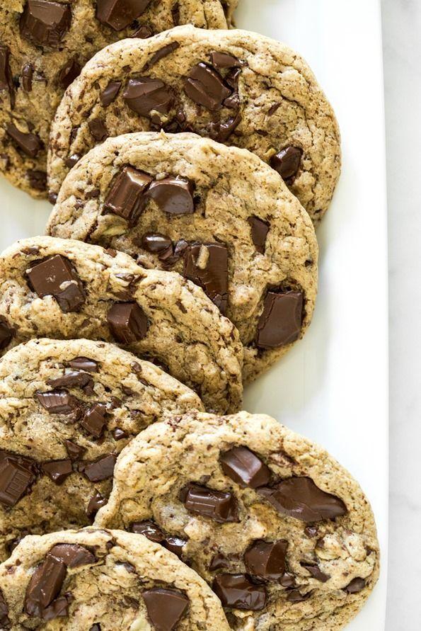 One Bowl Jumbo Chocolate Chunk Cookies (vegan + gf) – Oh She Glows
