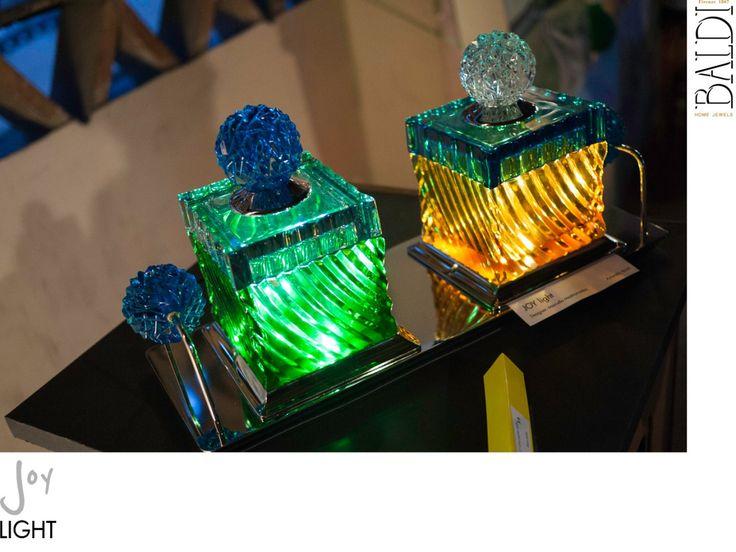 Joy Light Portable Table Lamp 2013 - Baldi - Marcello Mastromatteo #art #design #dual #thinker #industrial #designer #housewares #houseware #glass #cristal #marcello #mastromatteo #luxory #charme #excellence #made #in #italy #eccellenza #italiana #italia #bronzi #bronze #gold #silver #oro #argento #lighting #lightingdesign #led #luce #lamp