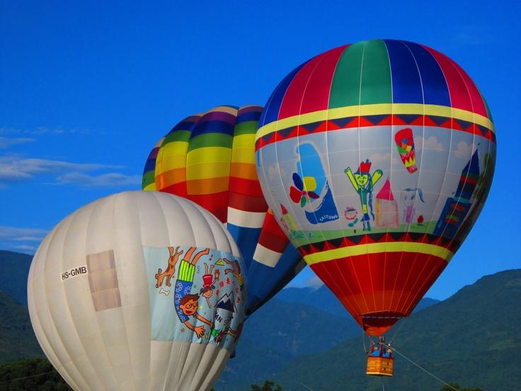 Balloon triplet