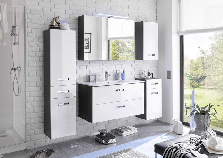 Více než 20 nejlepších nápadů na téma Badezimmer 5 tlg na - badezimmer braun wei modern