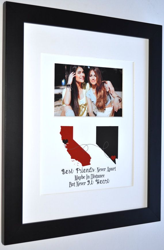 Good friends: gift for childhood friendship going away by Picmats
