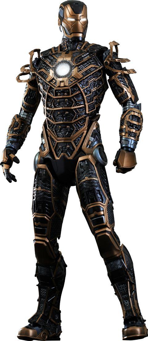 Hot Toys Iron Man Mark XLI - Bones Sixth Scale Figure