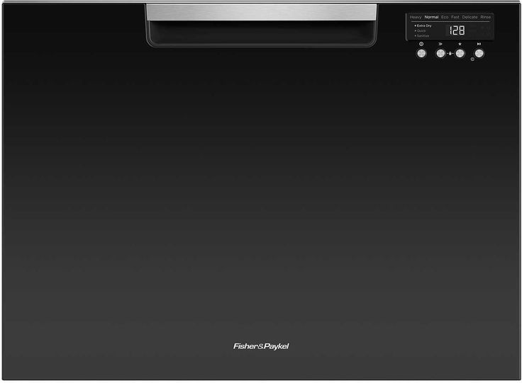 """Fisher Paykel DD24SCTB9 24"""" Drawers Semi-Integrated Dishwasher in Black"""