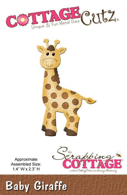 CottageCutz Baby Giraffe