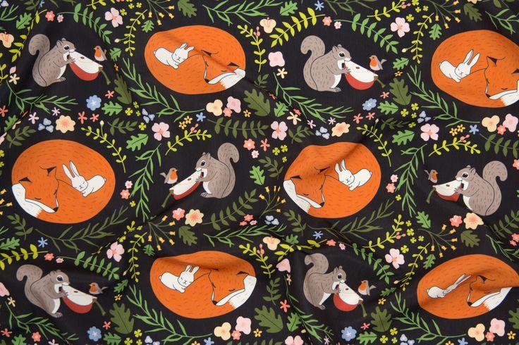 https://flic.kr/p/DPuyJ5 | Interspecies Animal Friendships Design Challenge Top Ten Winner | Friendship in Wildlife by mia_valdez  www.spoonflower.com/fabric/5049716