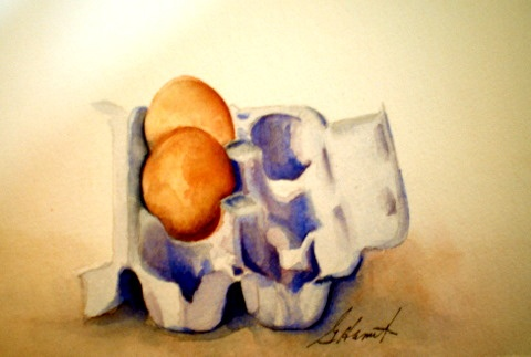 eggs by Gail Hamilton waterpaintster@gmail.com: Gail Hamilton