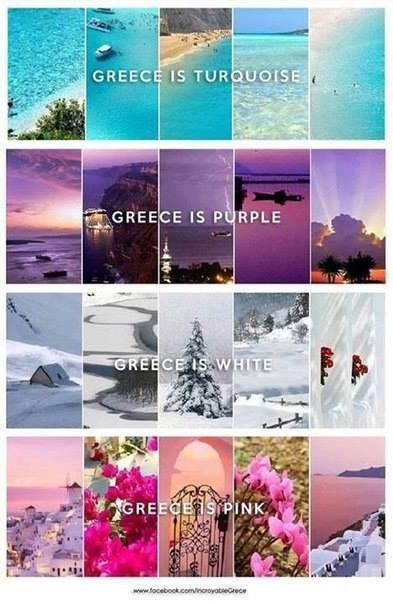 Greece is perfection