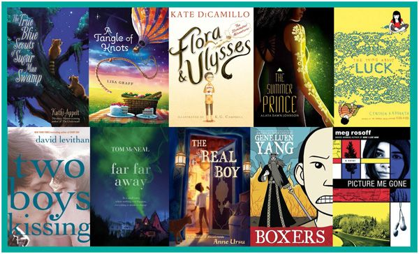 10KitLitNominees Art2 10 Kid Lit Nominees Chosen for 2013 National Book Award