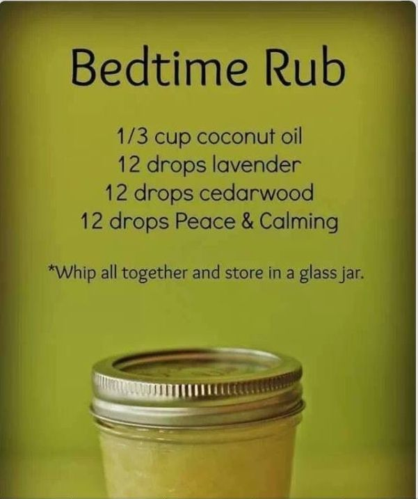 Bedtime Rub for restless legs