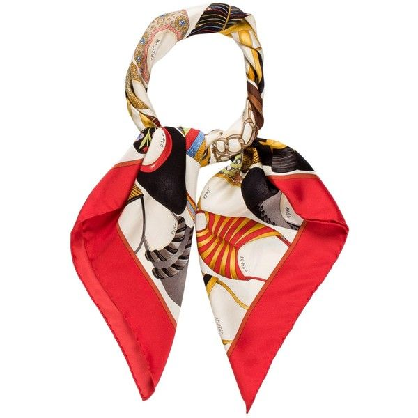 Pre-owned Salvatore Ferragamo Signature Shoe Scarf ($125) ❤ liked on Polyvore featuring accessories, scarves, red, salvatore ferragamo, colorful scarves, pure silk scarves, colorful shawls and salvatore ferragamo scarves