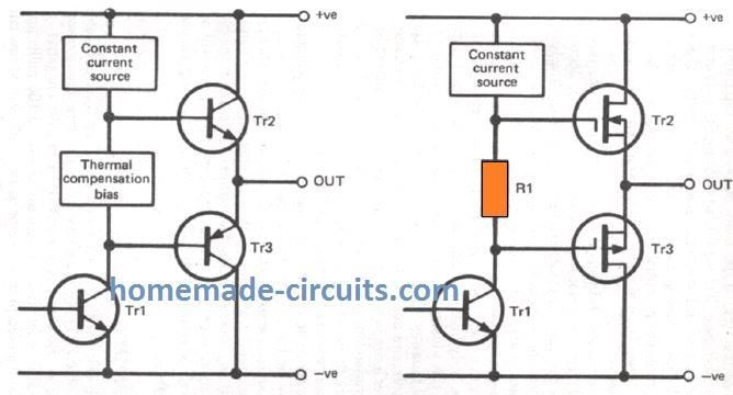 In This Post We Discuss Various Parameters That Must Be Considered While Designing A Mosfet Power Amplifier Circuit Power Amplifiers Amplifier Circuit Projects