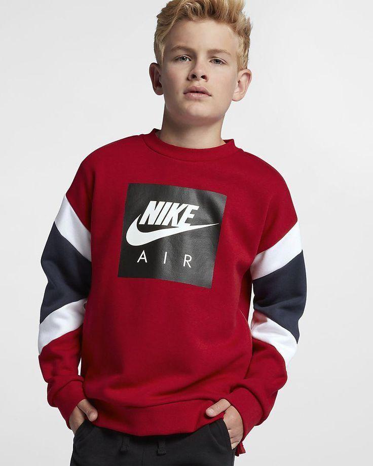 Nike Air Big Kids Boys Crew Ropa Para Niños Varones Ropa Casual Para Niños Ropa De Bebé Varon