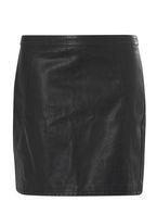 Womens DP Curve Plus Size Black Mini Skirt- Black
