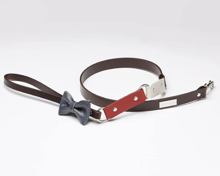 Matelot cafe - Luxury leather dog leash | Signe Louka