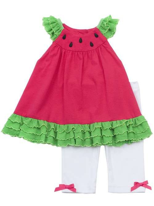 Rare Editions Watermelon Outfit