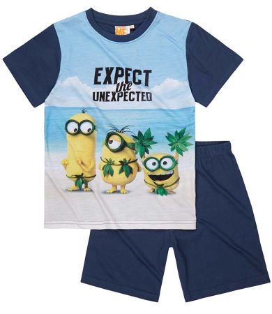 Minions Short Sleeve Pyjama denim