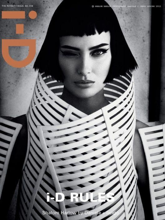 shalom harlow/ I-D royalty issue 2012 by daniele + iango