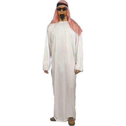 Disfraz de Jeque Árabe | Disfraces Originales