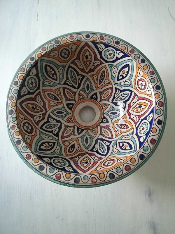 17+ images about Marokkaanse waskommen on Pinterest  Sinks, Bath and Morocca # Wasbak Koper_133721