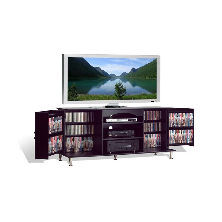 Meuble grand format de luxe pour t l viseur cran plat for Meuble tv grand ecran