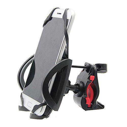 Zilong Support Universel Téléphone pour Vélo/Support de Téléphone VTT/Support de Navigateur pour GPS Rotation de 360° Bracelet en…