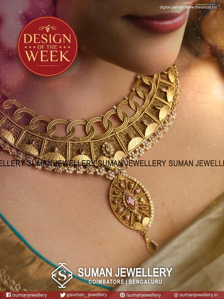 #Gracious & #timeless statement! Add some flair to your exclusive party_wear!!  #suman_jewellery #designoftheweek #party_wear