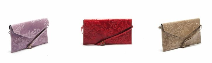 A slim envelope clutch adds an elegant accent to your outfit: https://storebrandsvip.com/b2b/products/?brand=3&category=2
