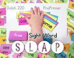 Free Sight Word Slap Game