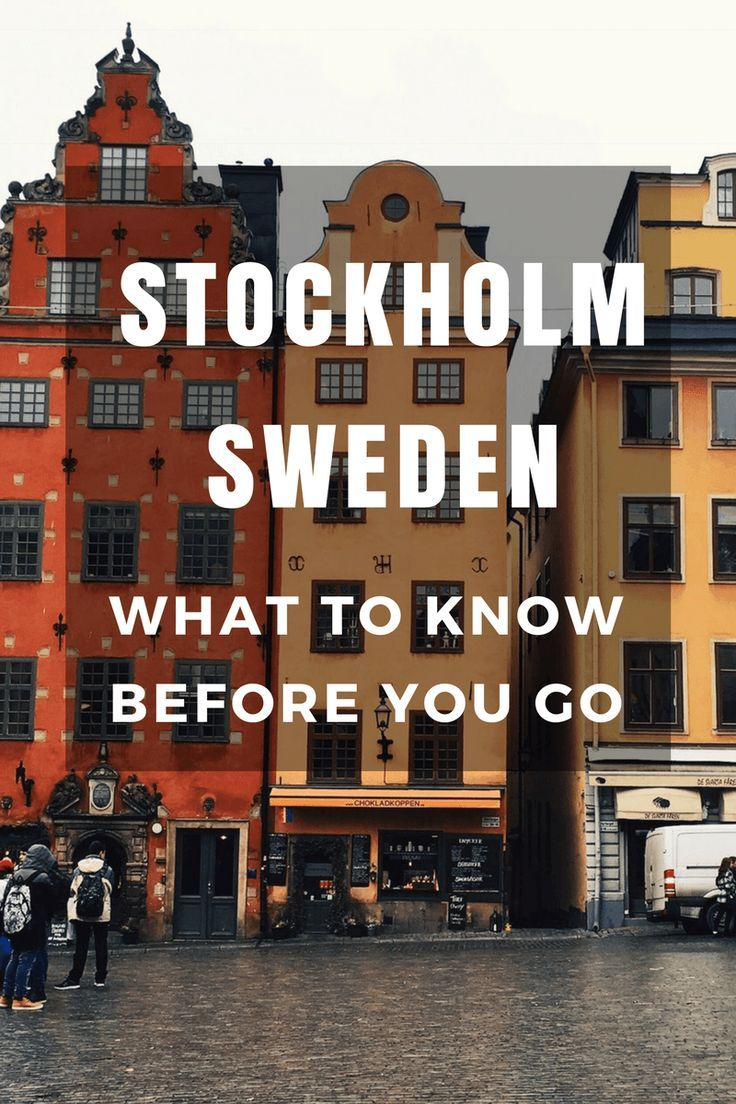 10 Things you should know before you visit Stockholm, Sweden