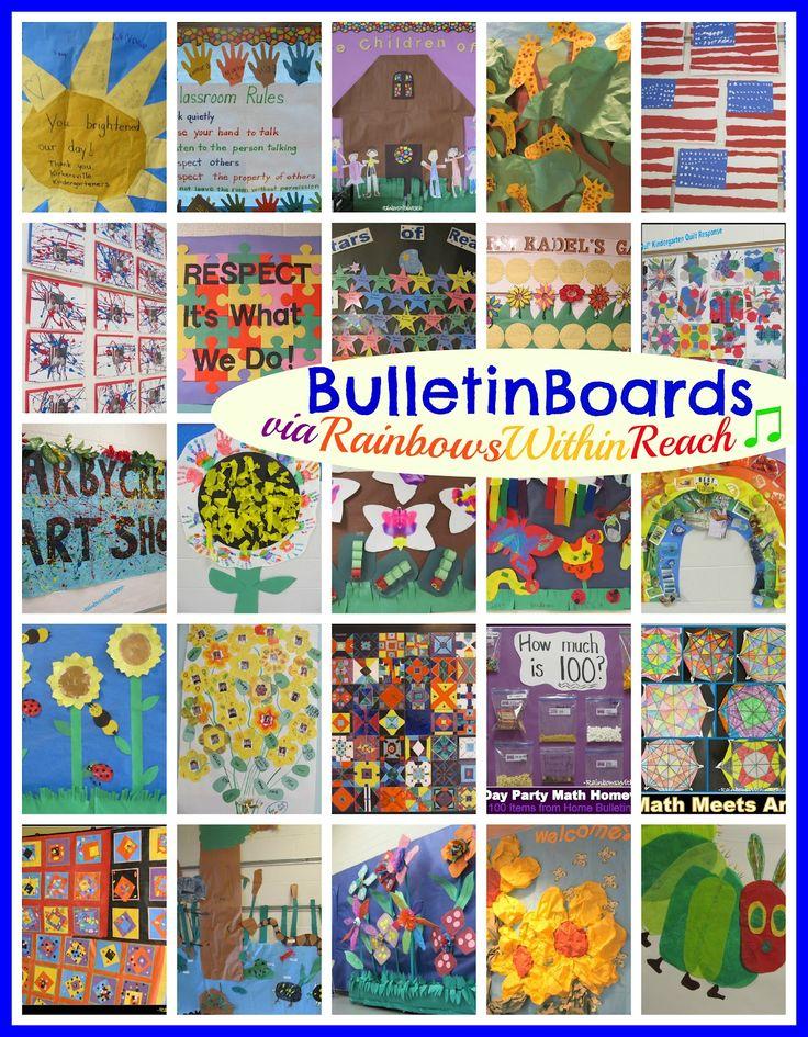Bulletin Board Round-UP via RainbowsWithinReach (All Seasons!!)
