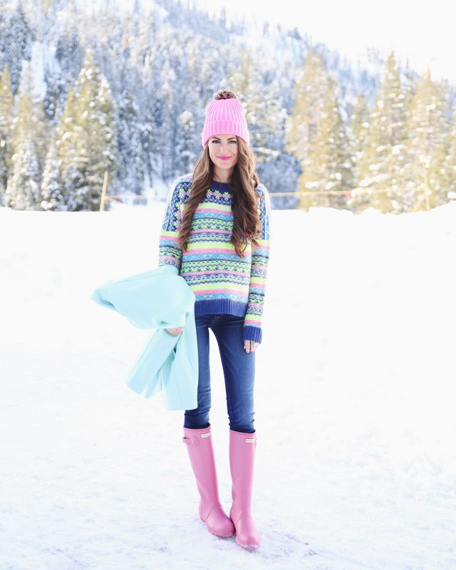 snow outfit inspiration