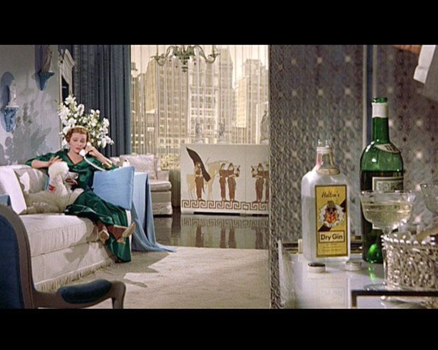 Patricia Neal in Breakfast at Tiffany's (1961) Art Direction: Roland Anderson, Hal Pereira, Set Decoration: Sam Comer, Ray Moyer