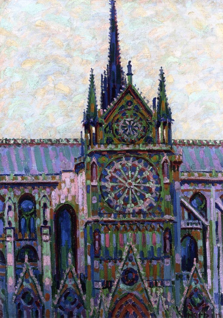 Auguste Herbin: Notre Dame de Paris (1903) via Wikipaintings